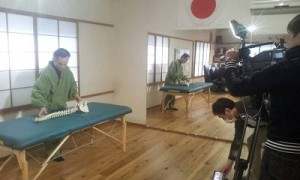 スーパーJチャンネル取材